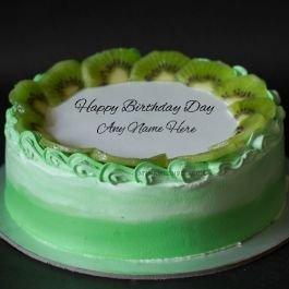 Birthday Cake Joyous Kiwi With Name