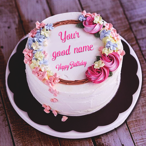 Write Name On Birthday Cakes