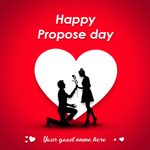 Advance Happy Propose day 2019 With Name