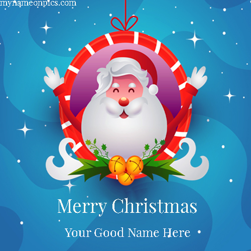 Merry Christmas Day 2018 Image With Name