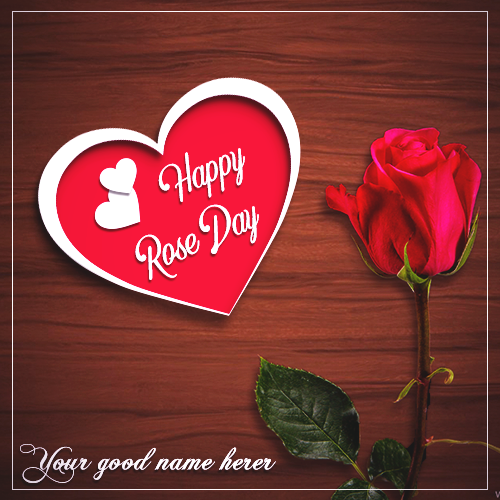 Happy Rose Day 2019 With Name