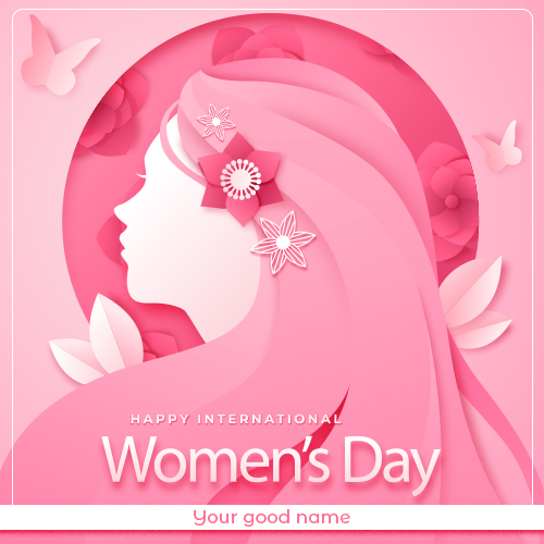 Happy Women Day 2021 Images With Name