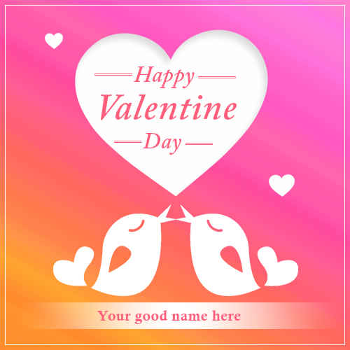 Couple Valentines Day Images With Name