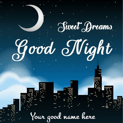 Special Good Night Images 2021 With Name