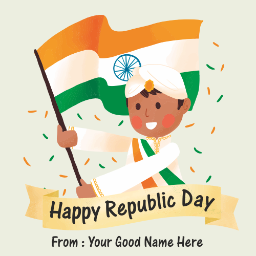 Happy Republic Day 2019 With Name