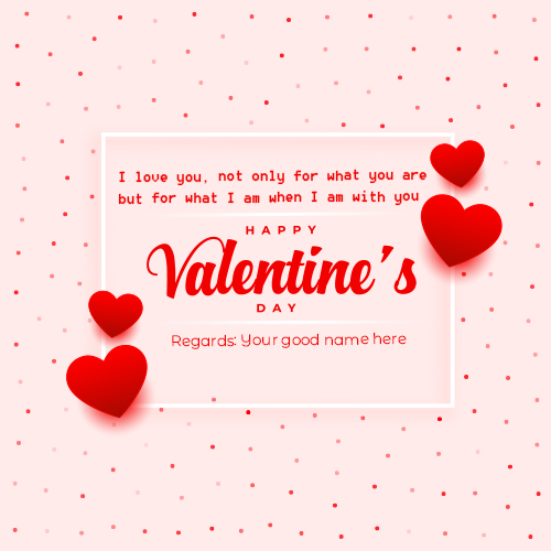 Happy Valentines Day Wishes Images 2021 With Name