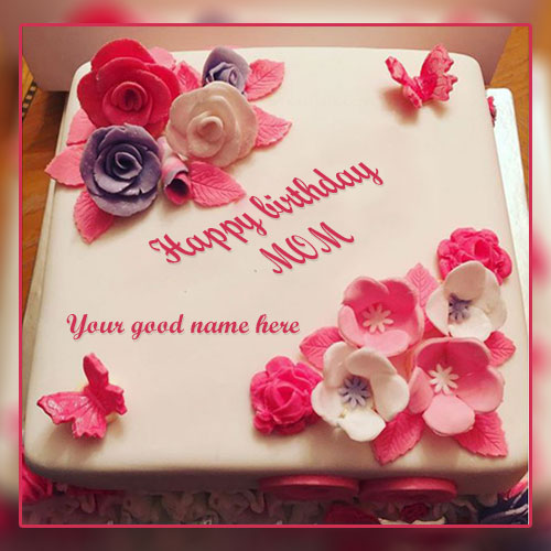 Happy Birthday Wishes For Mom Images With Name