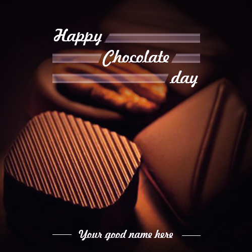 Write Name On Chocolate Day
