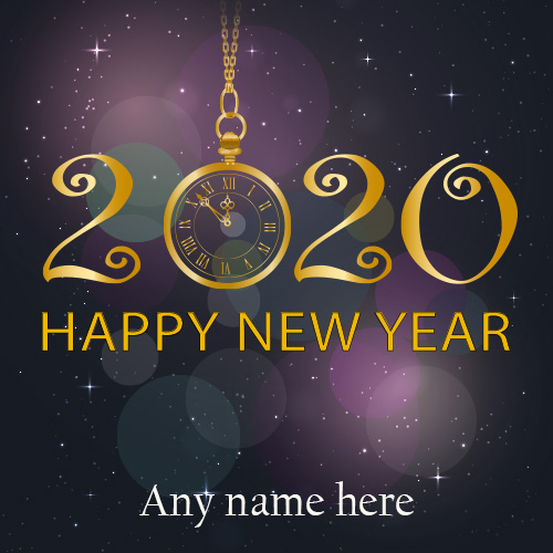 Happy New Year 2020 Images With Name