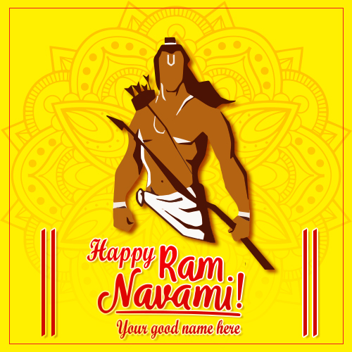 Happy Ram Navami Wishes 2019 With Name