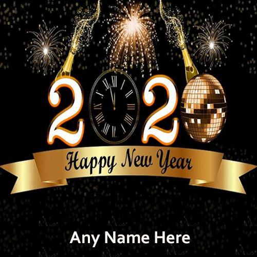 Happy New Year Eve 2020 With Name