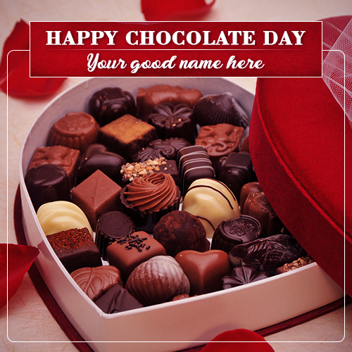 World Chocolate Day 2019 With Name