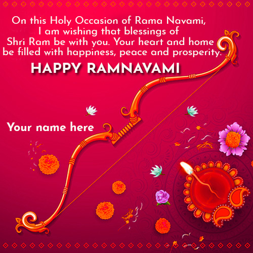 Happy Ram Navami Wishes Quotes Images With Name