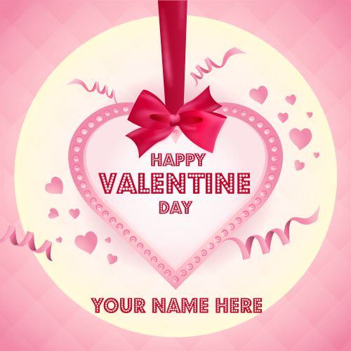 Valentine Day Image With Name