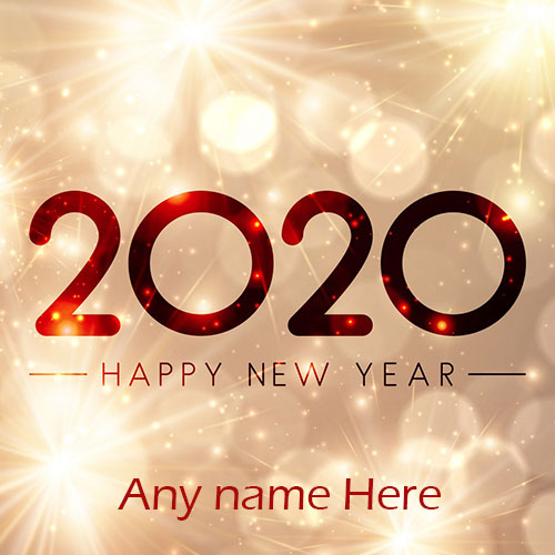 Happy New Year Wishes Greetings Card Images With Name