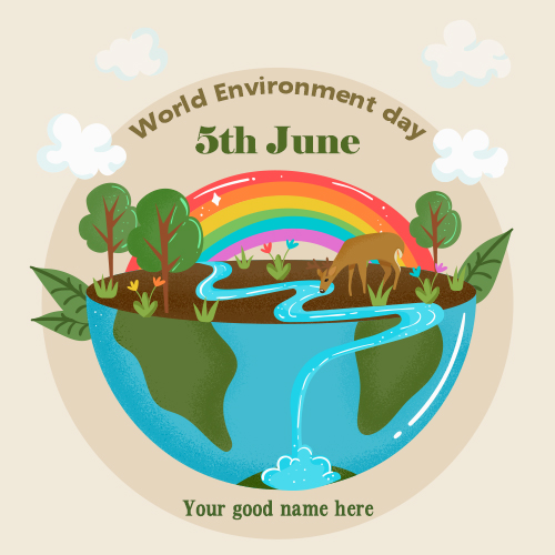 World Environment Day Images With Name