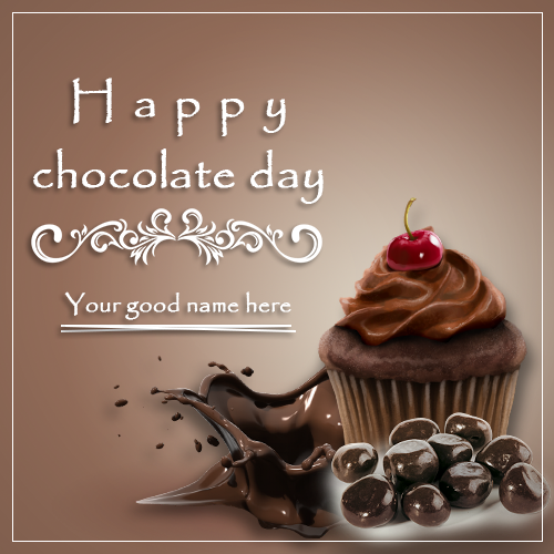 Advance Chocolate Day Wishes 2019 With Name