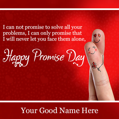 Promise Day Wishes Quotes Images With Name