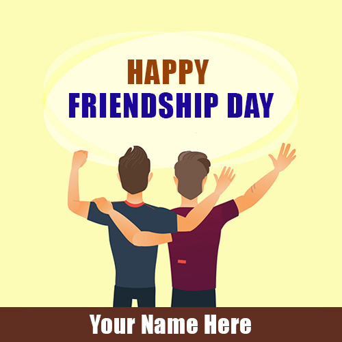 Happy Friendship Day Images With Friends Name