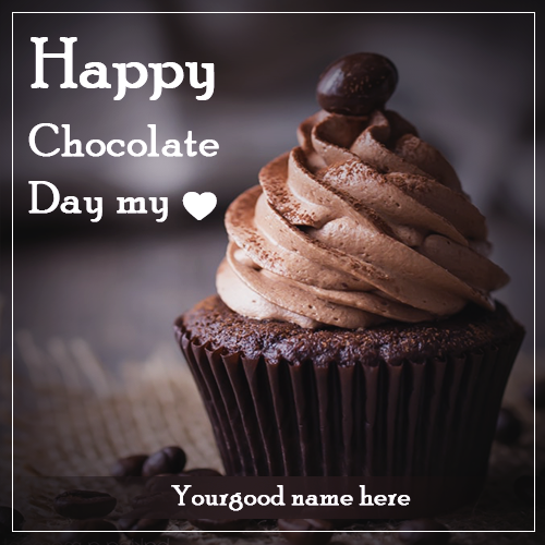 Chocolate Day With Name