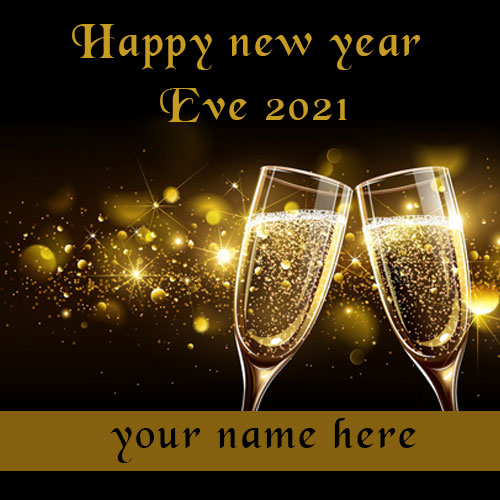 Happy New Year Eve Rocking Party Image With Name