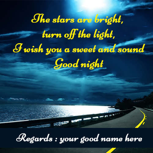 Beautiful Good Night Images With Name