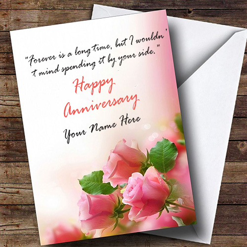 Beautiful Anniversary Card Images With Name