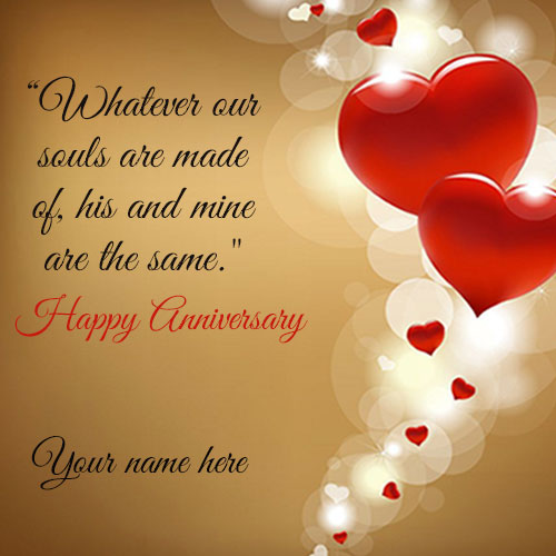 Marriage Anniversary Wishes Quotes Image With Name