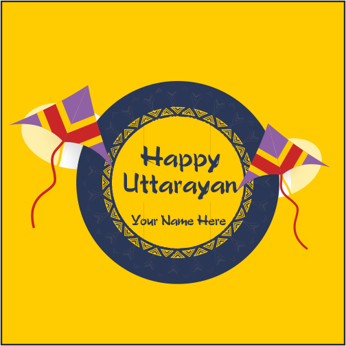 Advance Uttarayan Wishes 2019 With Name
