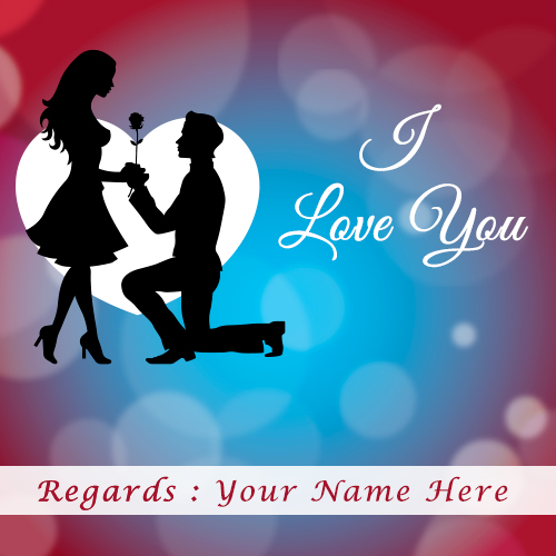 I Love You HD Images With Name