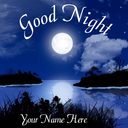 Write Name On Good Night Moon Image