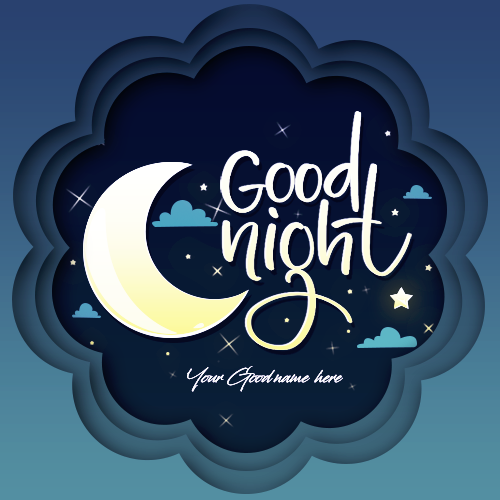 Good Night Sweet Dreams With Name