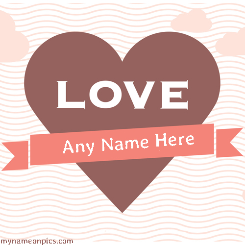 Love Heart Pictures With Name