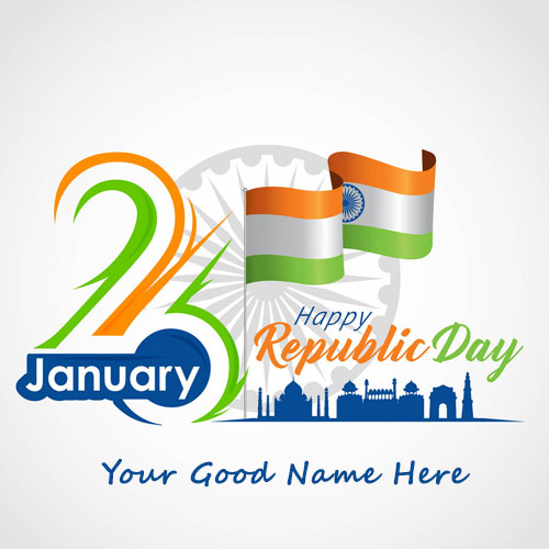 26th January Republic Day Images 2020 With Name