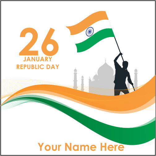 70th Republic Day Image With Name