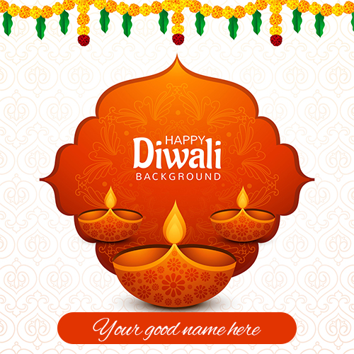 Happy Diwali Wishes Images 2021 With Name