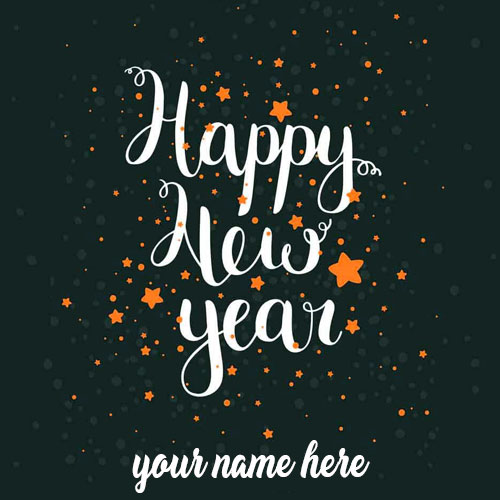 Write Name On Happy New Year 2021 Image With Photo