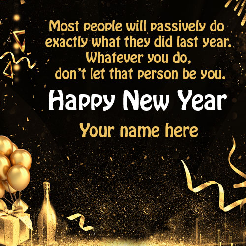 2021 Happy New Year Quotes Images With Name
