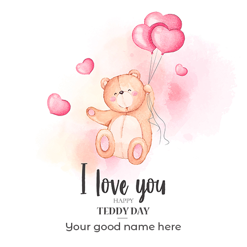 Happy Teddy Day 2021 Images With Name