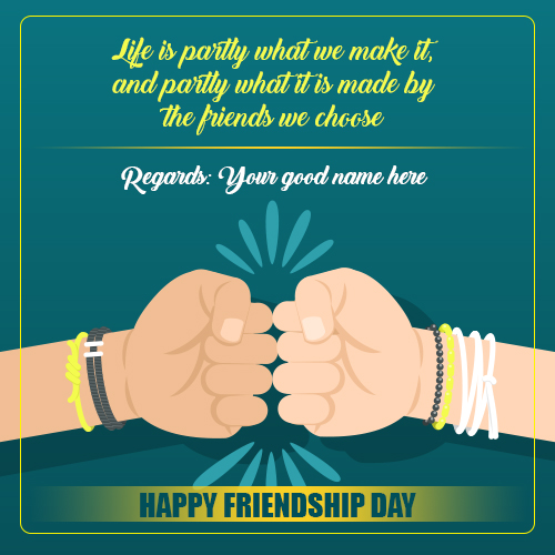 Friendship Day Quotes For Best Friends With Name