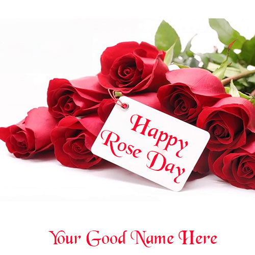 Happy Rose Day Quotes Images With Name