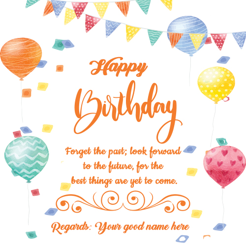 Happy Birthday Wishes Messages With Your Name