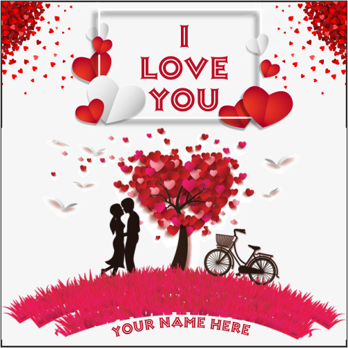 I Love You Image With Name