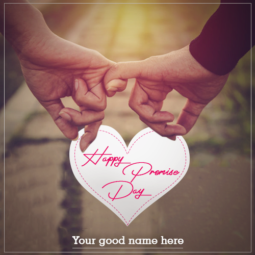 Happy Promise Day Wishes With Name