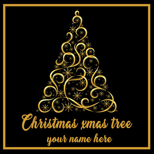 2020 Christmas Xmas Tree Images With Name