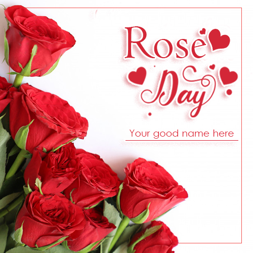 Happy Rose Day 2021 Images With Name