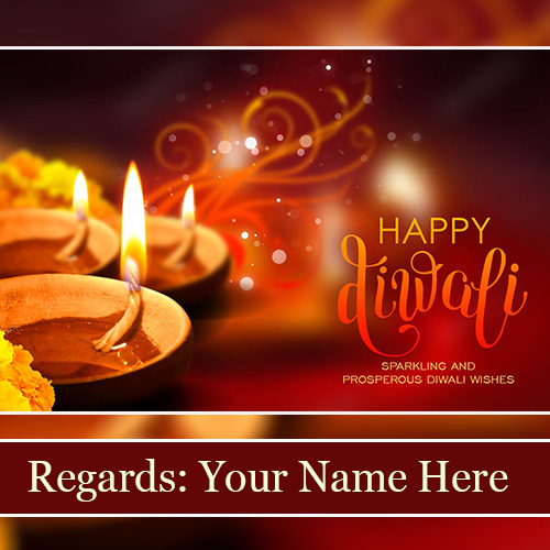 Happy Diwali Images With Name Editor
