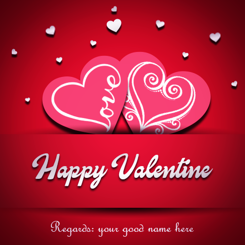 Happy Valentine Day 2019 With Name
