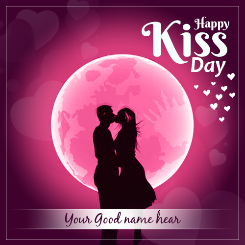 Happy Kiss Day Images 2021 With Name