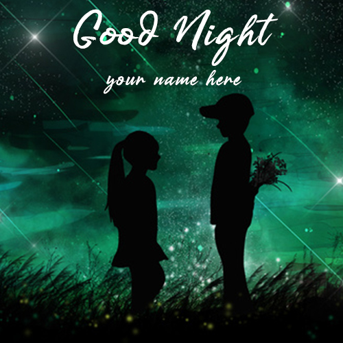Good Night Special Wishes Image With Your Girlfriend